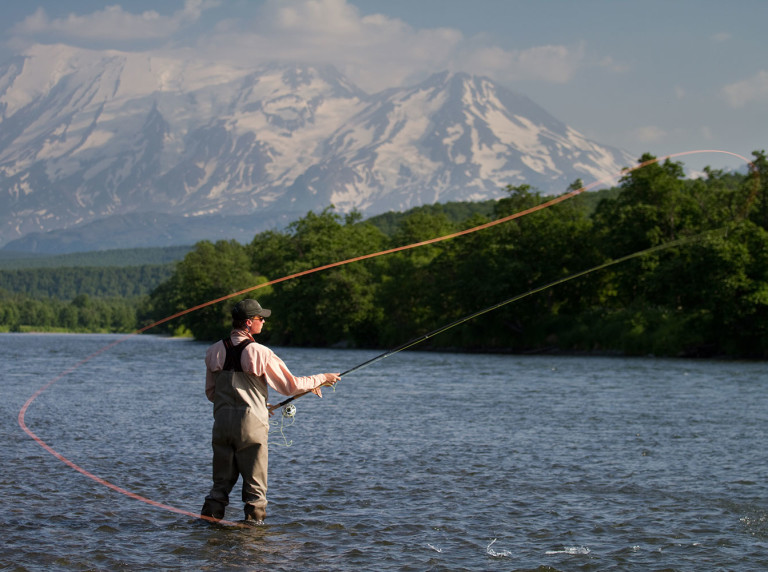 Fishing in Kamchatka