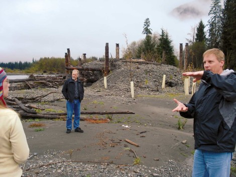 Quinault restoration to support blueback recovery