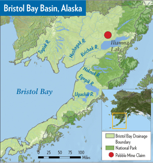 Bristol Bay Basin Map
