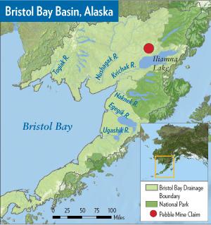 Bristol Bay Basin Map