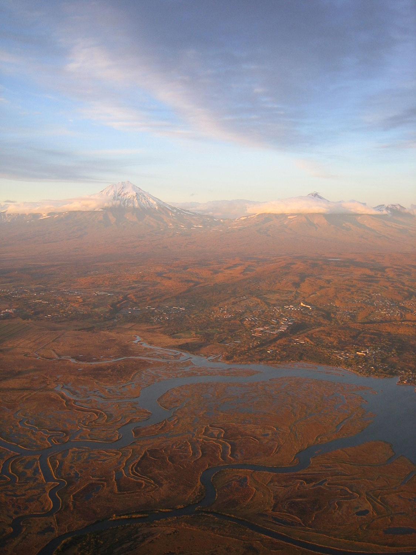 Kamchatka aerial