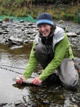 Emily Anderson, Wild Salmon Center (WSC) Alaska Senior Program Manager
