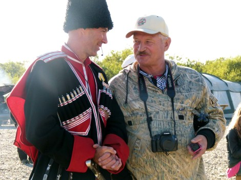 Kamchatka and Sakhalin Cossack communities come together