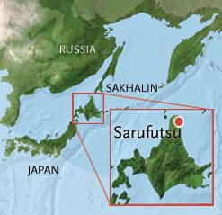 Taimen Map, Sarufutsu, Hokkaido, Japan