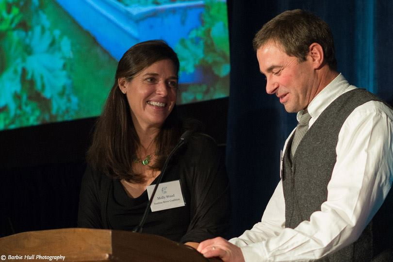 Molly and Mike Wood of the Susitna River Coalition