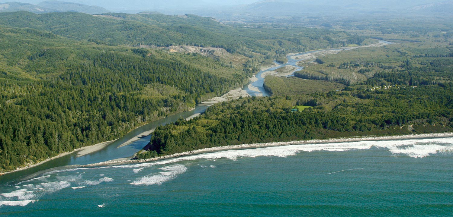 Washington Coast Aerial