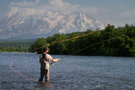 Zhupanova Kamchatka fly fishing