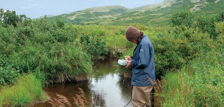 Frying Pan Lake Survey, Alaska