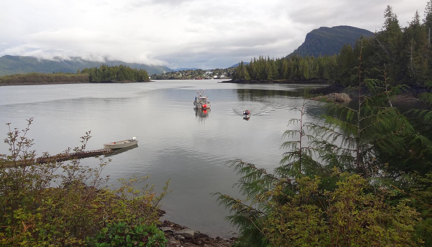 Lelu occupation Prince Rupert Sound British Columbia
