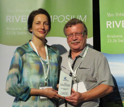 Leila Loder and Sergei Vakhrin are recognized with the 2013 RiverPrize