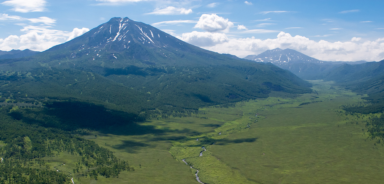 Zhupanova watershed, Kamchatka