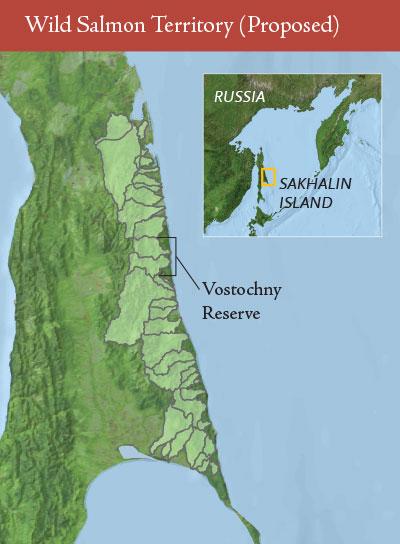 Proposed Wild Salmon Territory, Sakhalin, Russia