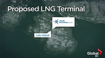 Russian delegation visits Skeena, speaks out against LNG