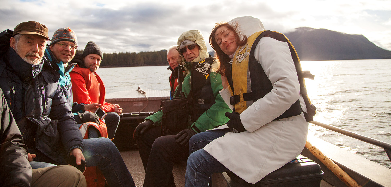 Russian Scientists Visit the Skeena